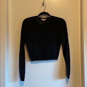 Wilfred Lace Crop